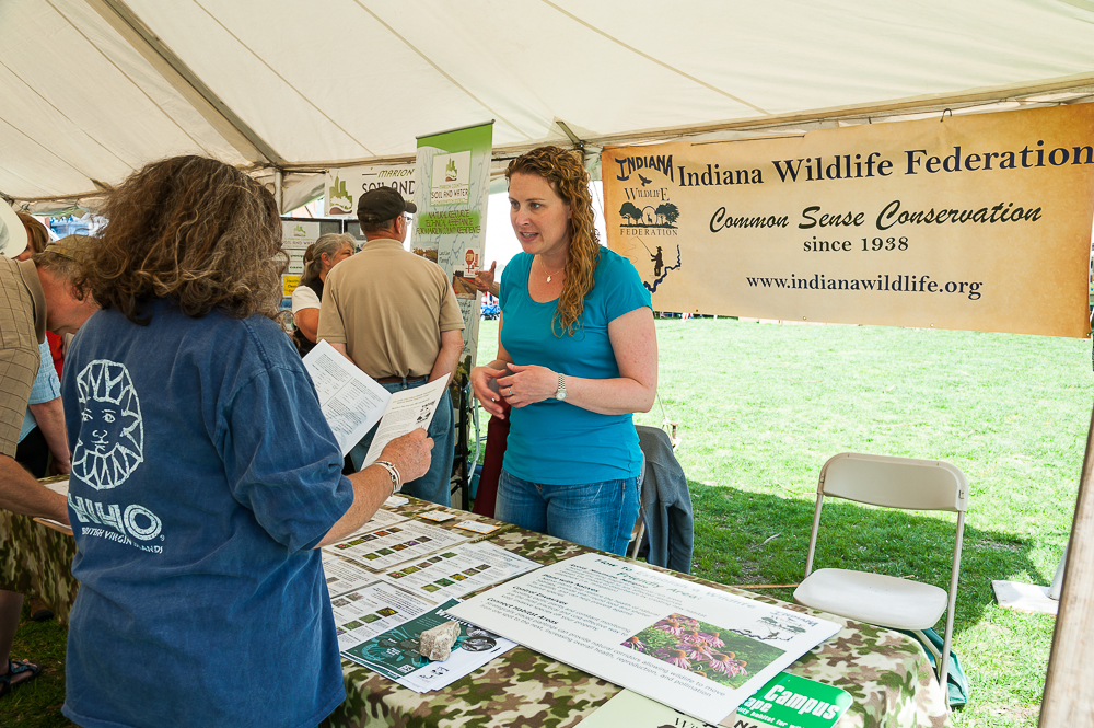 Exhibitors at Earth Day